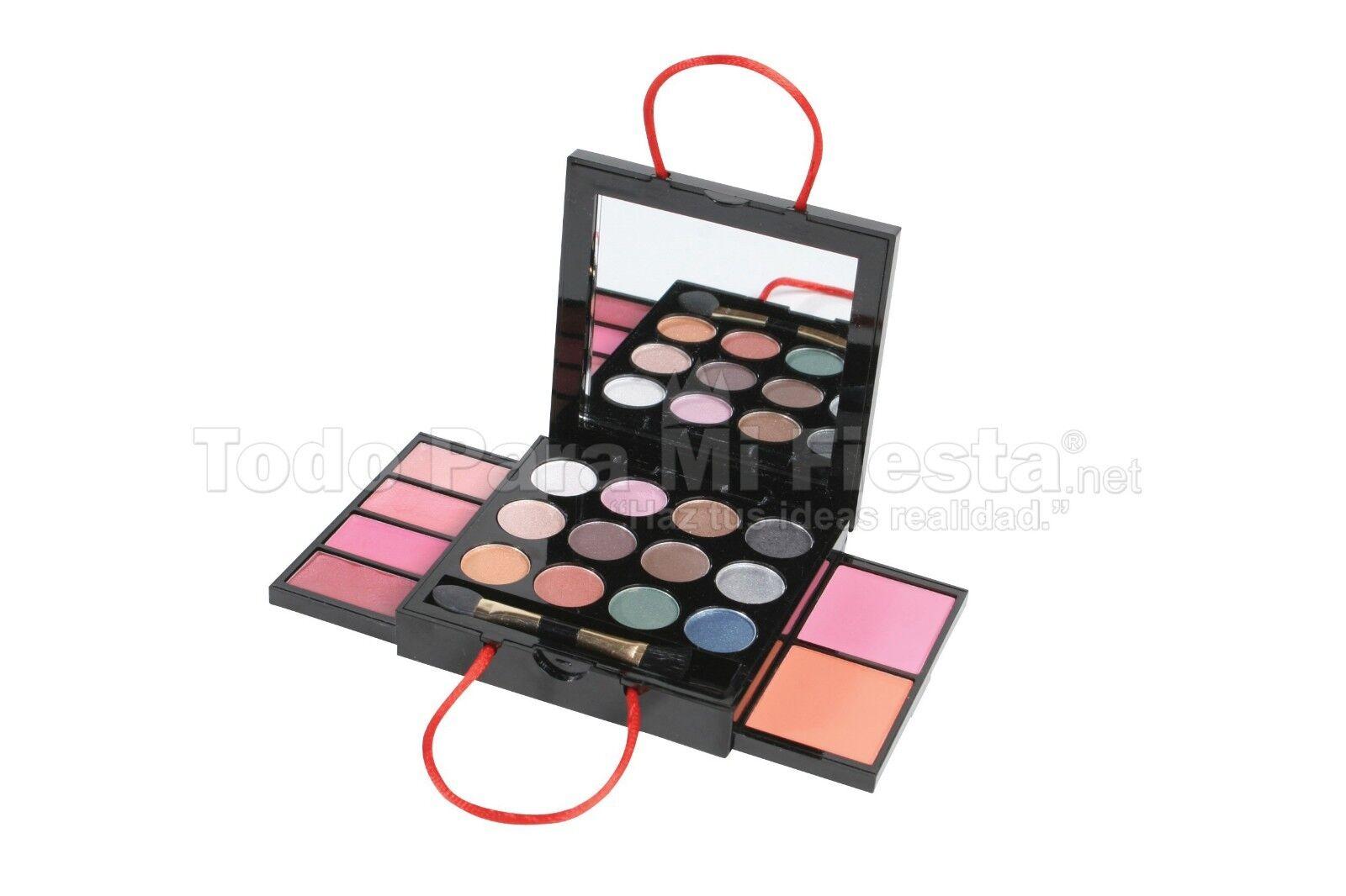 Girls Children Makeup Kit Set Eyeshadows Lipgloss Blush Appl
