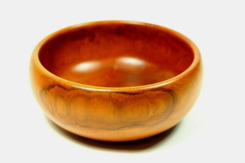 "Vintage Hawaiian Milo Wood 6-3/4"" Diameter Bowl by Blair"