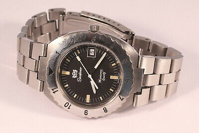 Vintage SEAFARER MARIANAS 20ATM Swiss Diver's Watch