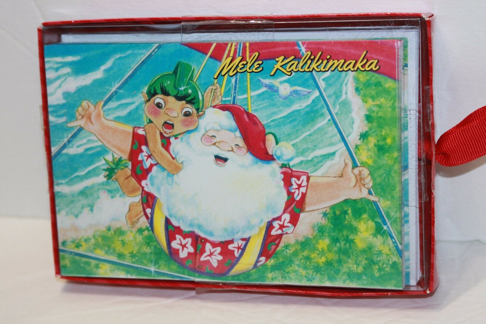 Hawaiian Christmas Greeting Images - greetings card design simple