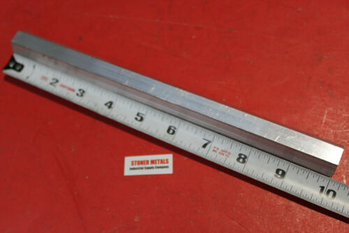 "HEX 3/4"" ALUMINUM 6061 BAR 10"" long T6511 SOLID LATHE STOCK .75 Flat to Flat"