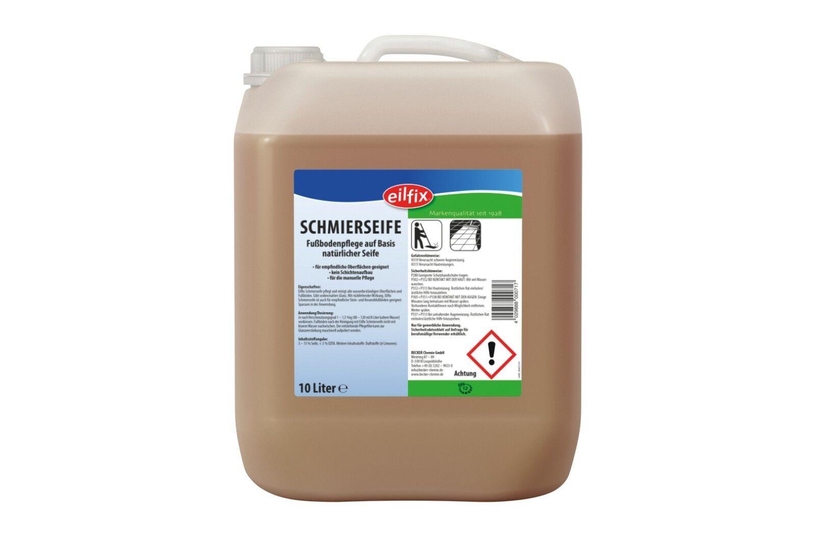 Eilfix® Schmierseife flüssig 10 Liter Kanister Oberflächenreiniger Putzmittel