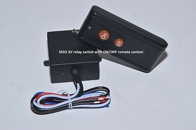 MSD 3V DC relay switch with ON OFF remote control transmitter RS301