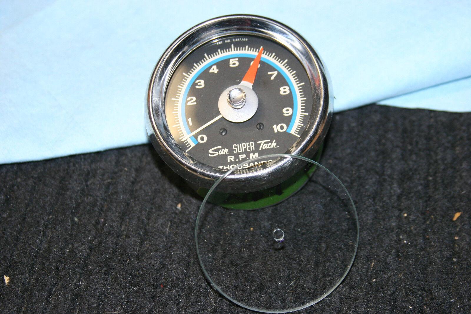 sun super tach tachometer replacement glass • 17 00 picclick sun super tach tachometer replacement glass 3 3 of 4