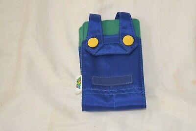 Super Mario Bros. Luigi Overalls DS Lite Case Pouch