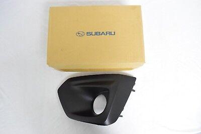 Genuine Subaru Impreza 12 14 LH Drivers Side Fog Light Bezel BLACK 57731FJ010