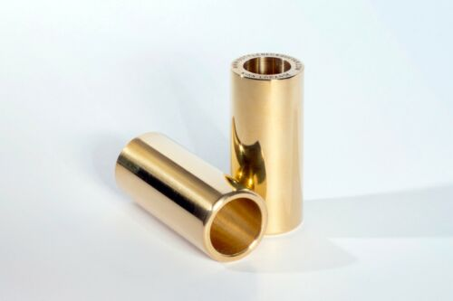 Kirk Lorange Heavy Brass Guitar Slide (The NEW Longer version for open tunings)