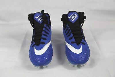 Nike Force Savage Pro Football Cleats Blue Black 880144-410 SIZE 11.5 NEW