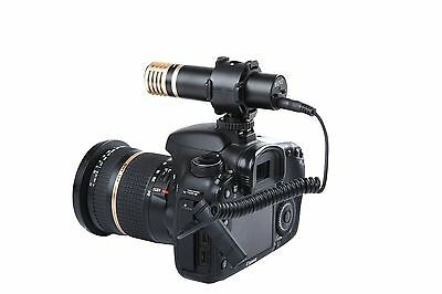 Movo VXR200 Stereo X/Y Condenser Mini Capsule Microphone for DSLR Video Cameras