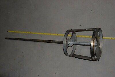 Lightnin Ss Agitator Mixer Propeller Prop Shaft 34 40 Long Shaft 10 Dia