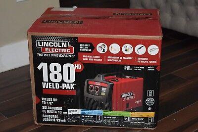 Lincoln Electric 180 Hd Weld-pak Migflux Wire Feed Welder K2515-1