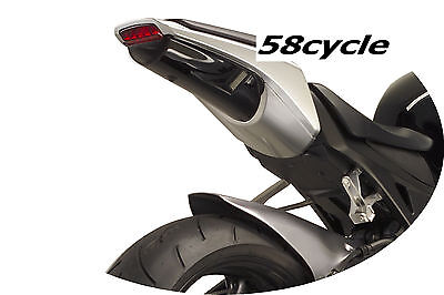 2008 Honda Cbr 1000 - 2008-2011 Honda CBR 1000RR Hotbodies ABS Undertail LED Signals-Transparent Smoke