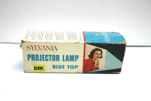 Sylvania Photo Projection Lamp LIGHT BULB Studio LAMP Projector Blue top