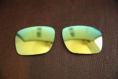 PolarLenz Polarized 24k Gold Replacement Lens for-Oakley Holbrook sunglasses