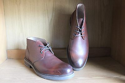 1901 Nordstrom Chukka Boot Brown Burnished Men Size 11.5