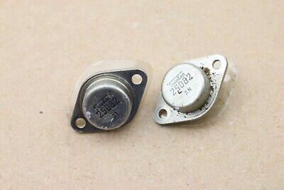 Pair Vintage Sanken Transistor 2sd82 To-3