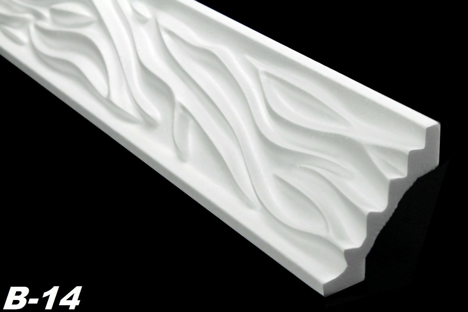 10 meter eckleisten zierprofile stuck dekoration styropor 54x54mm b 14 l hne. Black Bedroom Furniture Sets. Home Design Ideas