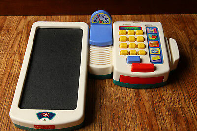 Fisher Price Scannin Talkin Check Out Center Not Fully Tested 1998 Grocery Read