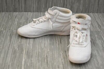 Reebok Freestyle Hi 70 Athletic Shoe - Women's Size 8, White