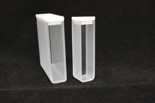 UV Quartz Cuvette, 0.35ml, 2 clear windows, standard cell with lid, FQ-CV-1-1