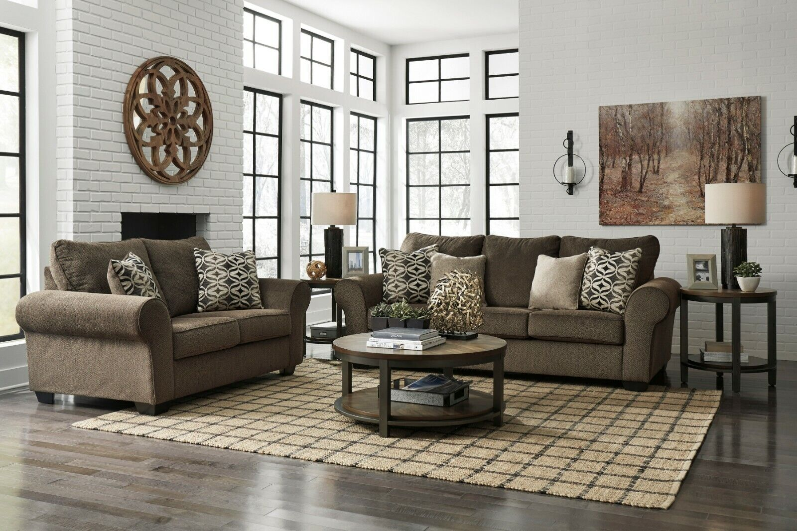 Ashley Furniture Nesso Sofa and Loveseat Living Room Set