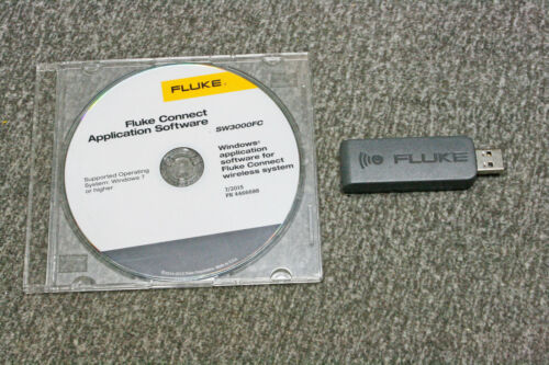 Fluke pc3000 FC usb adapter + SW3000FC software