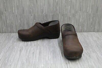 Dansko Xp 2.0 Clog 3951787878 - Men's Size 9.5-10/EU 43, Brown Oiled Leather Dansko Mens Clogs