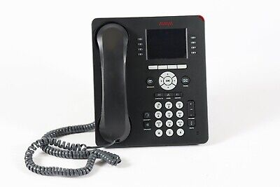 Avaya 9611g 8-line 24-button Business Office Ip Phone With Stand