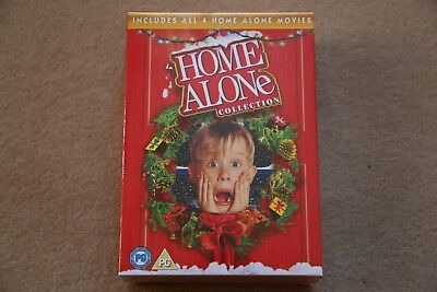 HOME ALONE 1 2 3 AND 4 COMPLETE COLLECTION      BRAND NEW SEALED UK DVD BOXSET (Home Alone 1 2 3 4)