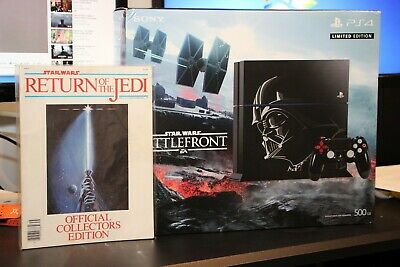 STAR WARS BATTLEFRONT DARTH VADER PLAYSTATION 4 PS4 CONSOLE NEW IN BOX w/ EXTRAS
