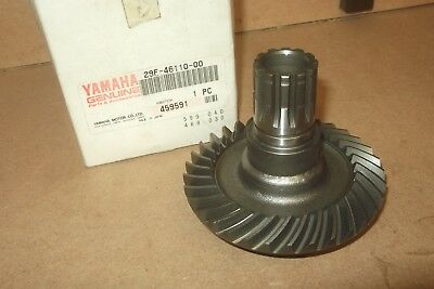 <em>YAMAHA</em> T80  TOWNMATE  C1986  GENUINE NOS DRIVE SHAFT RING GEAR    29