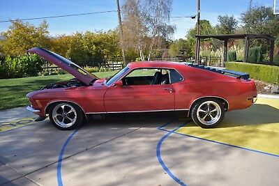 1970 Ford Mustang Mach 1 1970 MUSTANG Mach1 Tribute Call kenn (408)375-5451 with all offers