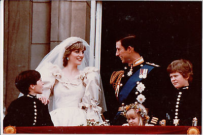 Photo Prince Charles & Lady Diana Prince & Princess of Wales