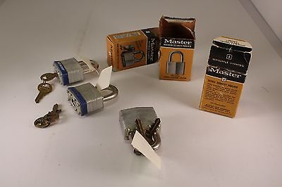 Master Lock Padlock Maximum Security Heavy Duty Laminated Steel Extra Strong