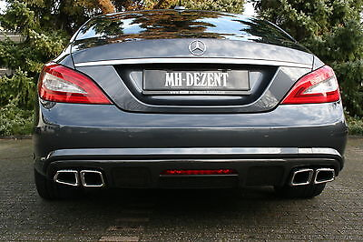 MH-DEZENT Sportauspuff  AMG CLS 63 Optik  Mercedes  CLS 500  W218  V 8 SOUND !