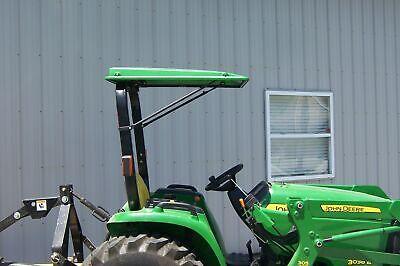 Original Tractor Cab Green Canopy Fits John Deere Ztrak Mowers 30382-g