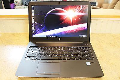 HP Zbook 15 G3 Workstation -- i7 6820HQ (2.7GHz) - 16GB Ram - M2000M - 512GB SSD