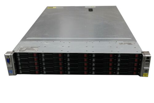 HPE StoreVirtual 4730 25 x 900GB Software-defined storage 10GbE SAN 2x 750W