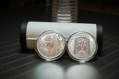 2017 South Korea 1oz Silver Chiwoo Cheonwang Medal in AirTite Coin! Ebay Bux!