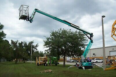 Imer 62 Tracked Boom Lift32 Side Reachonly 31widefactory Demofullwarranty