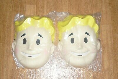 Fallout 3 Halloween Costume (TWO NEW E3 2018 FALLOUT 76 Vault Boy Halloween Costume MASK)