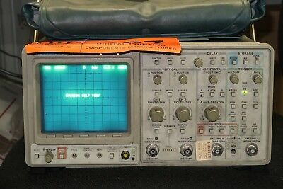 Tektronix 2440 2-channel Digital Oscilloscope 300 Mhz 500 Msas