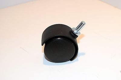 New Twin Wheel Swivel 1-12 Caster For Tables Draws Storage Bins Chairs