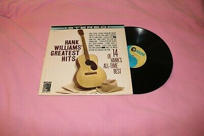 Hank Williams Hank Williams Greatest Hits 14 Of Hank s All-Time Best Vinyl LP - $9.99