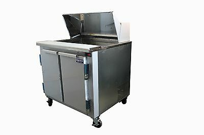 Coolman Commercial Refrigerated Sandwich Prep Table 36