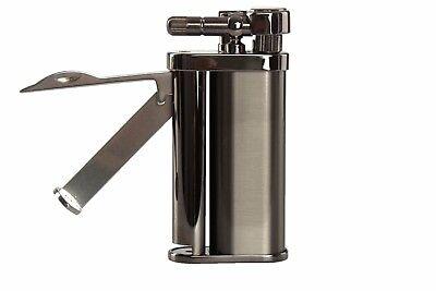 Pearl Eddie Gun Satin Pipe Lighter With Tools Gun Satin Lighter