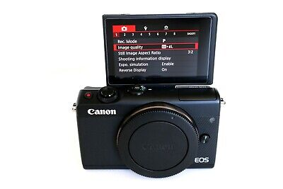 Perfect Canon EOS M100 24.2 MP Mirrorless Digital Vlogging Camera Body