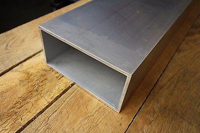 6061 T6 Aluminum Rectangle Tube 3 X 6 X 27 X 316 3 X 6 X .188 Wall