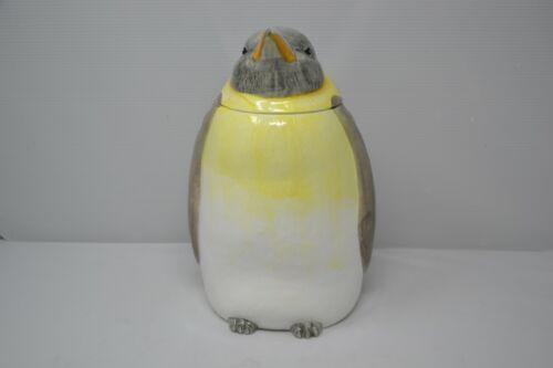 Vintage Penguin Cookie Jar