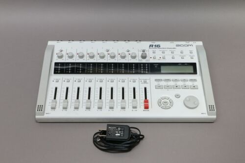 Zoom R16 Portable Multitrack Recorder Controller and Interface